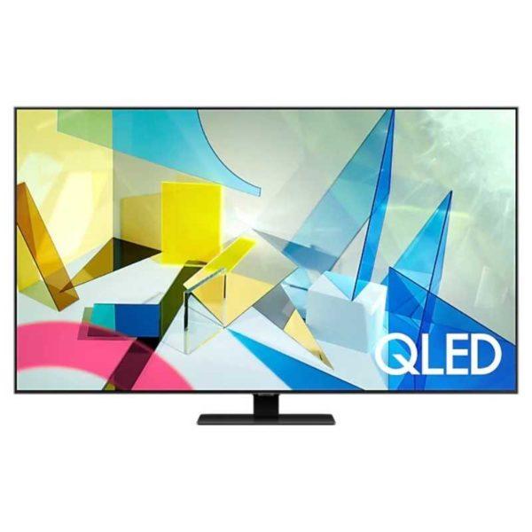 "samsung 75"" q80t qled smart 4k tv (2020)"
