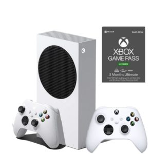 Xbox Series S with 2 Controllers and 3 Month Game Pass Ultimate